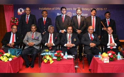 Installation of Office Bearers 2016-17