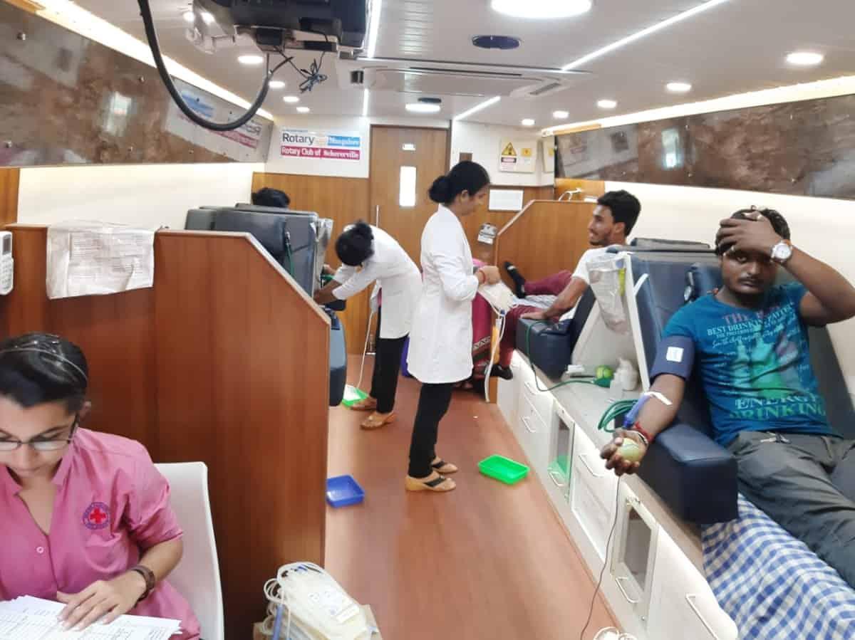 Canara College - Blood Donation Camp