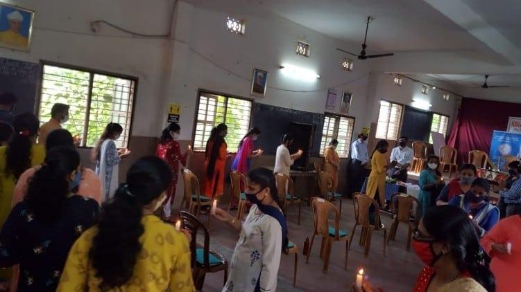 Teachers Soft Skills Enrichment Programme at Navachethana English Medium School, Neermarga, Mangalore DK