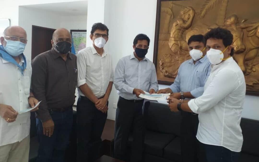 COVID19 Relief – Contribution towards the installation of Oxygen Generation plant at Lady Goshen Hospital, Mangaluru.